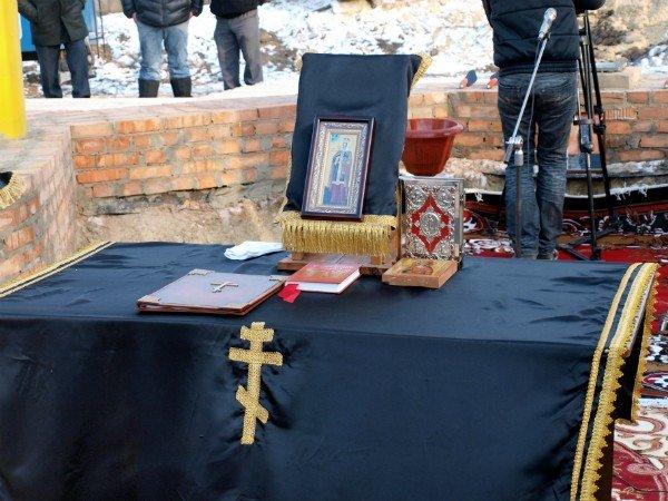 В Харькове заложен храм святой Тамары (фоторепортаж), фото-6