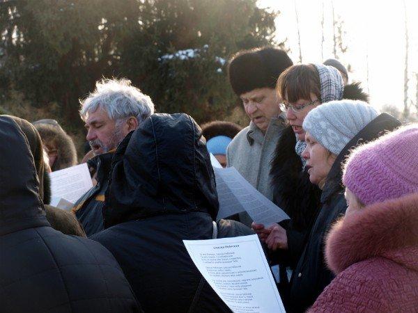 В Харькове заложен храм святой Тамары (фоторепортаж), фото-10