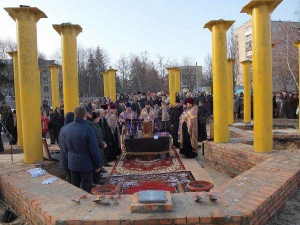 В Харькове заложен храм святой Тамары (фоторепортаж), фото-2