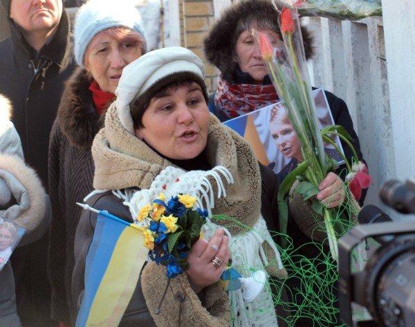 Цветы и торт к Тимошенко 8 марта не попали (фоторепортаж), фото-7