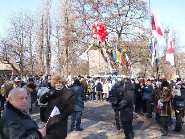 Цветы и торт к Тимошенко 8 марта не попали (фоторепортаж), фото-9
