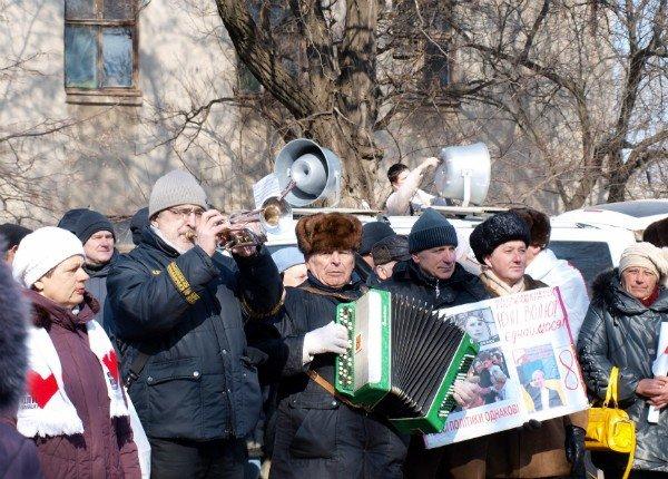 Цветы и торт к Тимошенко 8 марта не попали (фоторепортаж), фото-2