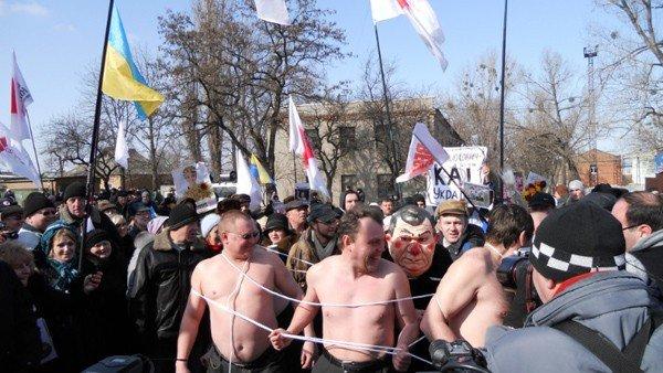 Горловская Батькивщина поздравила Юлию Тимошенко с 8 Марта, фото-1
