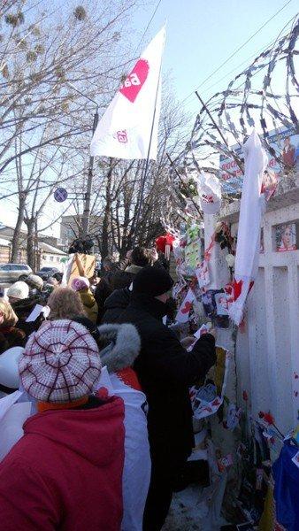 Горловская Батькивщина поздравила Юлию Тимошенко с 8 Марта, фото-5