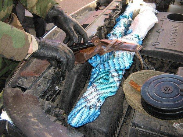 Харьковские пограничники задержали контрабандное оружие (фото), фото-1