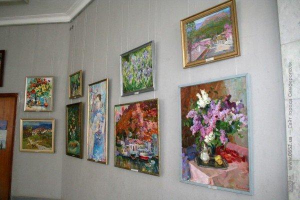 В Симферополе можно посмотреть «Весеннюю выставку» (фото), фото-5
