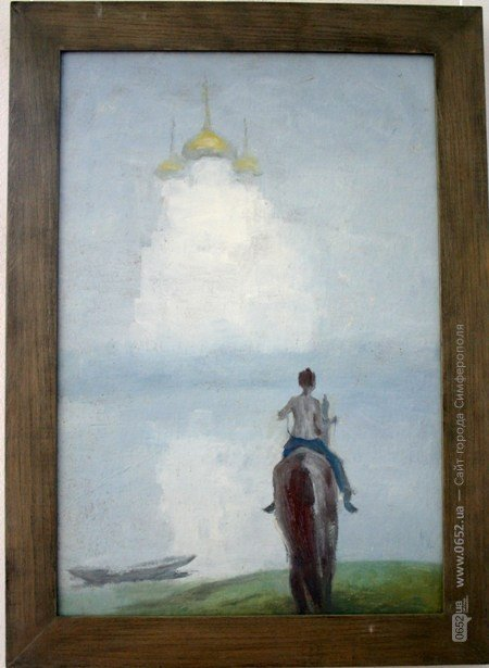 В Симферополе выставили работы художника, который исчез десять лет назад (фото), фото-3