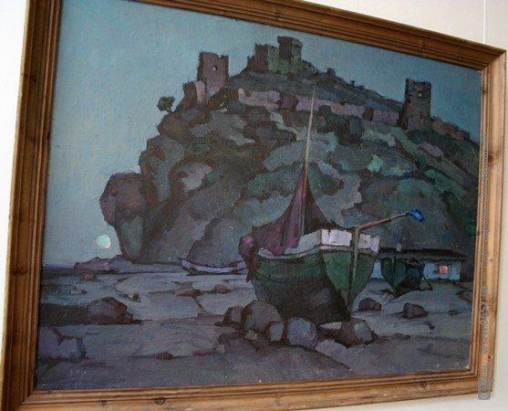 В Симферополе выставили работы художника, который исчез десять лет назад (фото), фото-4