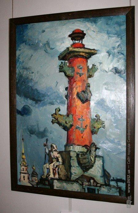 В Симферополе выставили работы художника, который исчез десять лет назад (фото), фото-6
