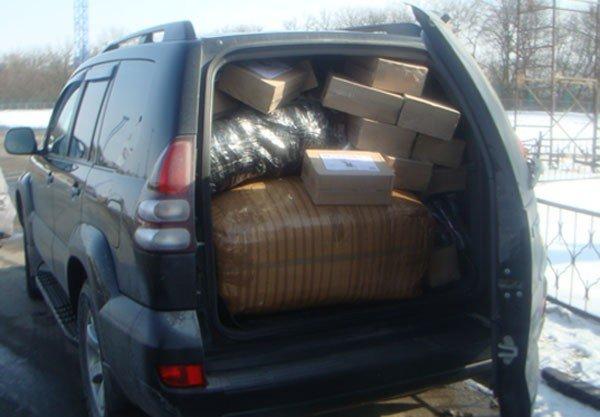 Харьковчанин пытался перевезти через границу контрабанду всякого барахла (ФОТО), фото-1