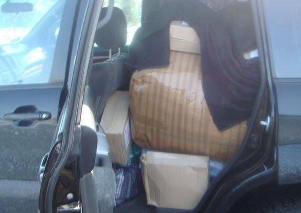 Харьковчанин пытался перевезти через границу контрабанду всякого барахла (ФОТО), фото-2