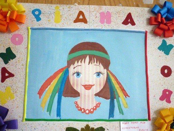 Горловские дошколята  посвятили своим мамам около сотни рисунков, фото-5