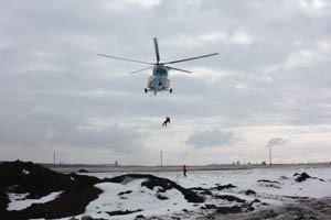 Как в Донецке спасали пассажиров загоревшегося и совершившего аварийную посадку «Боинга-737» (фото), фото-1