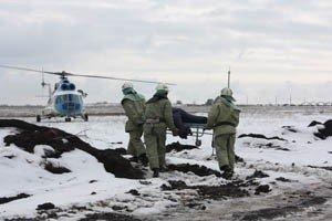 Как в Донецке спасали пассажиров загоревшегося и совершившего аварийную посадку «Боинга-737» (фото), фото-4