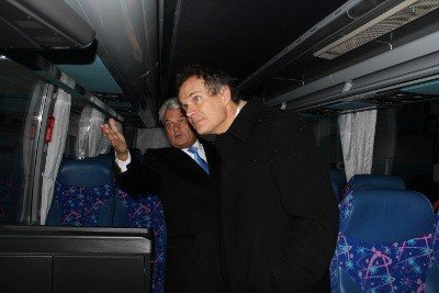 Британський посол оглянув виробництво Львівського автобусного заводу, фото-5