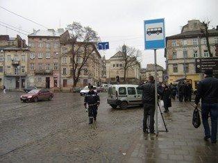 Львівські журналісти разом із міліцією виявляли водіїв-порушників. В місті відбувся рейд, фото-3