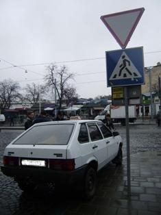 Львівські журналісти разом із міліцією виявляли водіїв-порушників. В місті відбувся рейд, фото-4