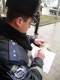 Львівські журналісти разом із міліцією виявляли водіїв-порушників. В місті відбувся рейд, фото-5