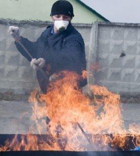 У Львові спалили понад 300 кг наркотиків на мільйон грн. Серед спаленого найбільше макової соломки та марихуани, фото-2