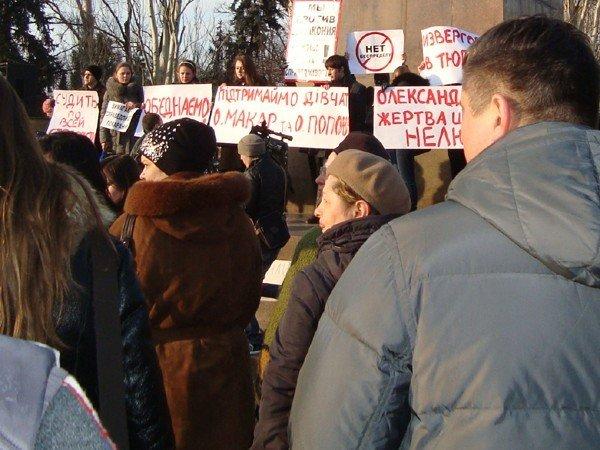 Николаевцы требуют справедливого рассмотрения дела изнасилованной и подожженной Оксаны Макар (ФОТО), фото-4
