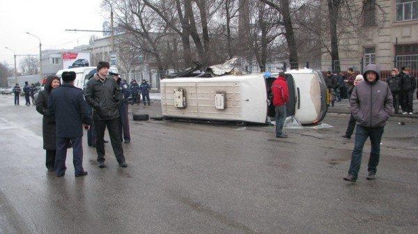 В Запорожье очередное серьезное ДТП с участием «маршрутки», фото-1