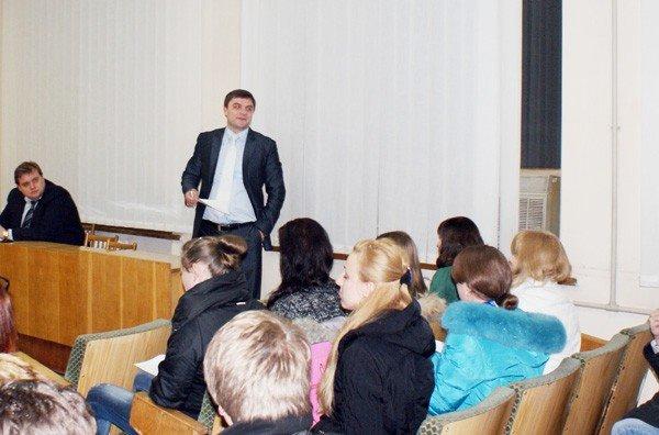 Мэр Горловки скрывает, зачем пригласил к себе студентов иняза. Те же не открывают тайну, боясь, что их отчислят, фото-4