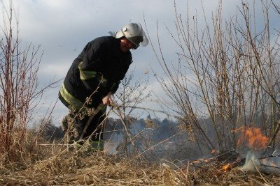 На Львівщині через спалювання минулорічного листя горять торф'яники та гектари сухої трави, фото-2