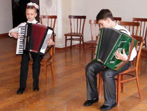 В Горловке прошёл концерт «Баян - народная музыка», фото-1