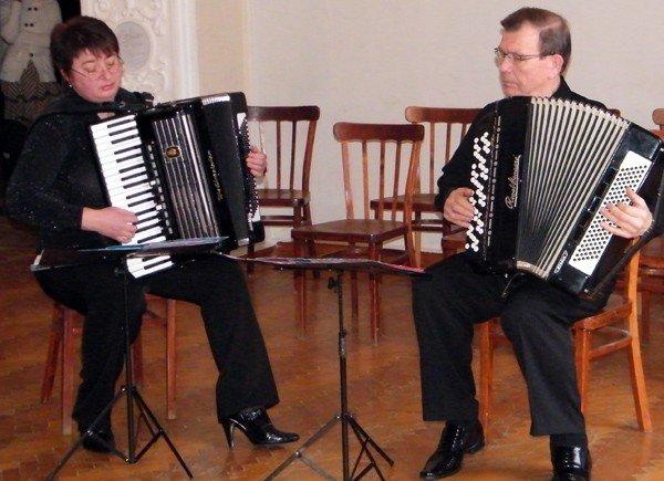 В Горловке прошёл концерт «Баян - народная музыка», фото-4