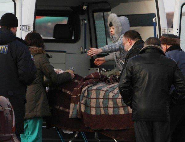 В Донецк привезли Оксану Макар (фото), фото-6