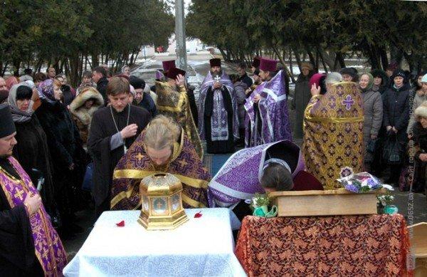 В Крым привезли мощи младенцев, убиенных Иродом в Вифлееме (фото), фото-1