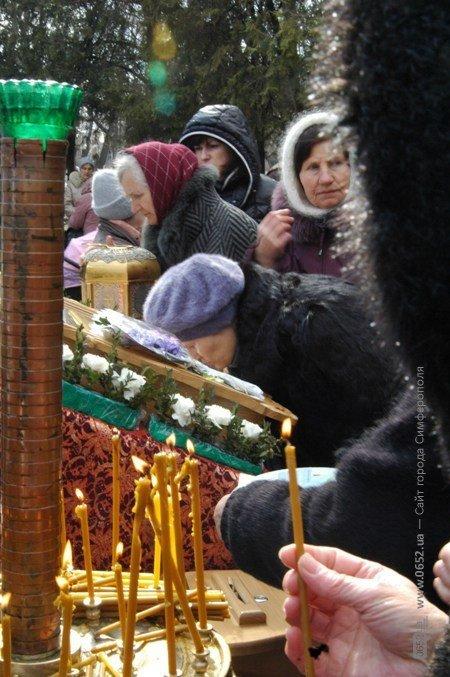 В Крым привезли мощи младенцев, убиенных Иродом в Вифлееме (фото), фото-5