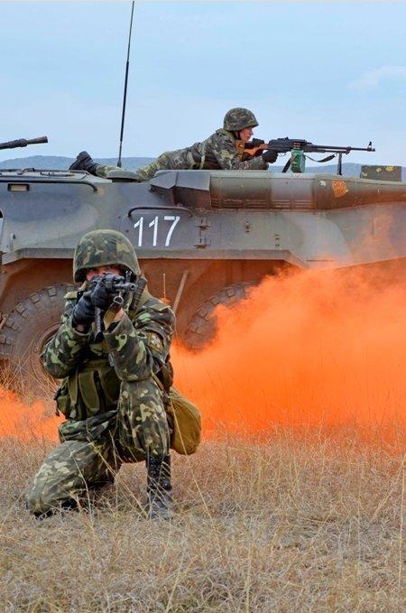 В Крыму морпехи обезвредили террориста-смертника (фото), фото-8