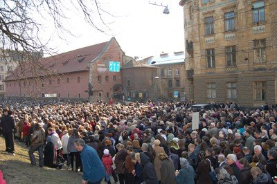 У Львові пройшла Хресна хода. 30 тис. віруючих з'їхалось до міста, фото-2