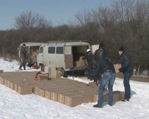 Крупную партию контрабандных сигарет задержали сотрудники УБОП на Луганщине (ФОТО), фото-1