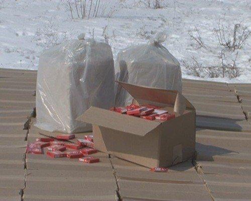 Крупную партию контрабандных сигарет задержали сотрудники УБОП на Луганщине (ФОТО), фото-2