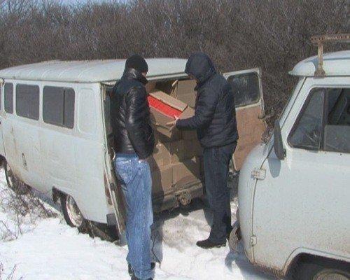 Крупную партию контрабандных сигарет задержали сотрудники УБОП на Луганщине (ФОТО), фото-5