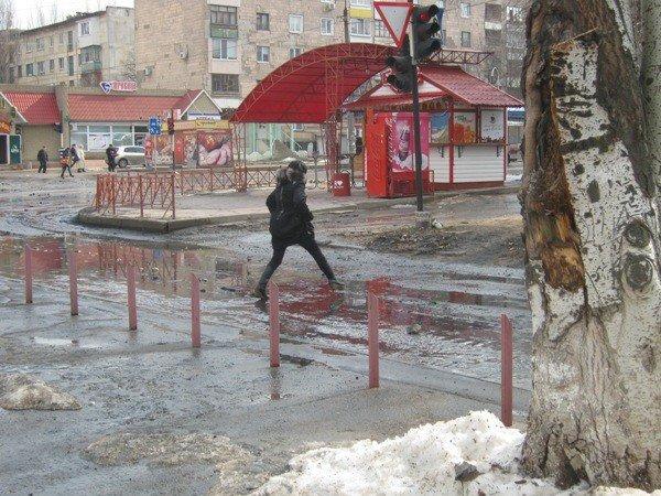 Улицу Королева сегодня залило фекалиями (ФОТО), фото-5