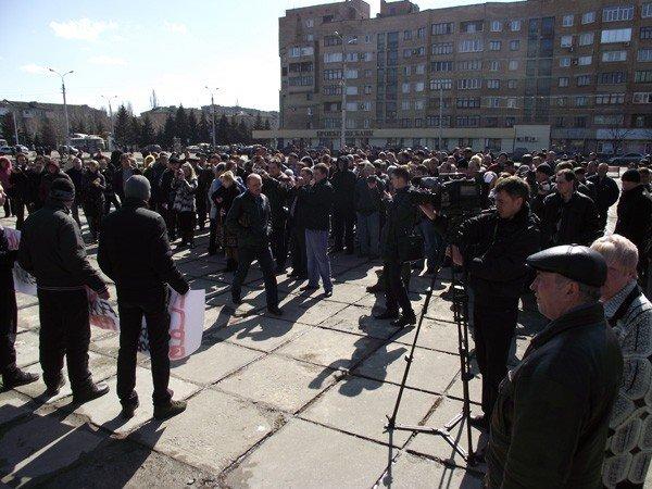 Власти Горловки не захотели общаться с митингующими автомобилистами (ВИДЕО), фото-3