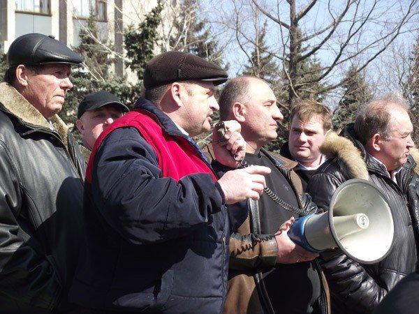 Власти Горловки не захотели общаться с митингующими автомобилистами (ВИДЕО), фото-6