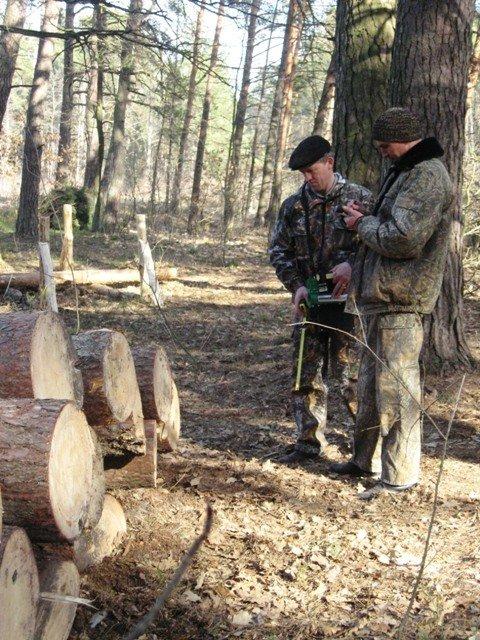 Вінницькі лісівники вчилися маркувати дерева на Волині (ФОТО), фото-4