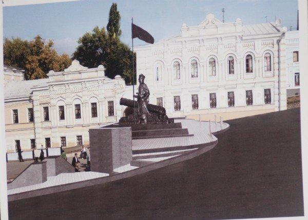 На Бурсацком спуске установят памятник атаману Ивану Сирко (ФОТО), фото-4