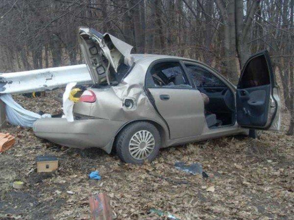 В Краснокутском районе водитель «Део Ланоса» погиб в ДТП (ФОТО), фото-1