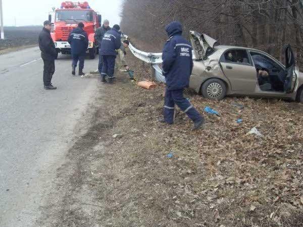 В Краснокутском районе водитель «Део Ланоса» погиб в ДТП (ФОТО), фото-2