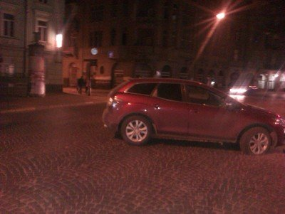 Як «москалі» у Львові паркуються, фото-2