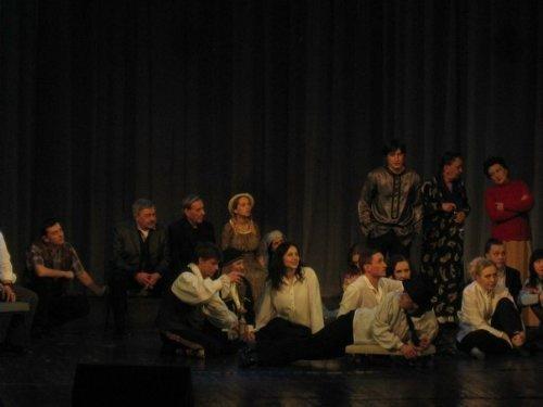 В Луганске День театра актеры отметили капустником (ФОТО), фото-11