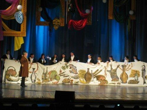 В Луганске День театра актеры отметили капустником (ФОТО), фото-7