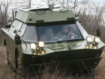 Частный броневик катается по донецким дорогам (фото), фото-1