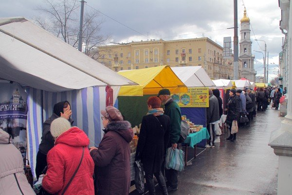 В Харькове началась православная ярмарка «Вербная неделя» (ФОТО), фото-1