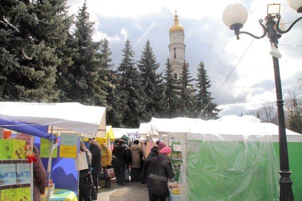 В Харькове началась православная ярмарка «Вербная неделя» (ФОТО), фото-11